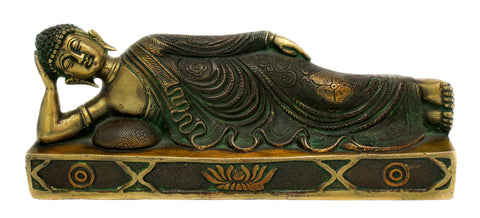 Two Toned Sleeping Buddha