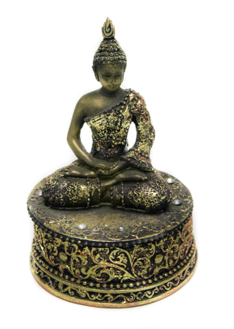Buddha on a Circular Box