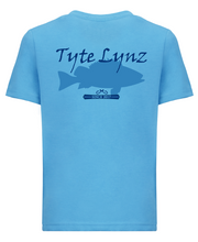 Load image into Gallery viewer, Original Grouper Youth Tee | Turquoise | Tyte Lynz