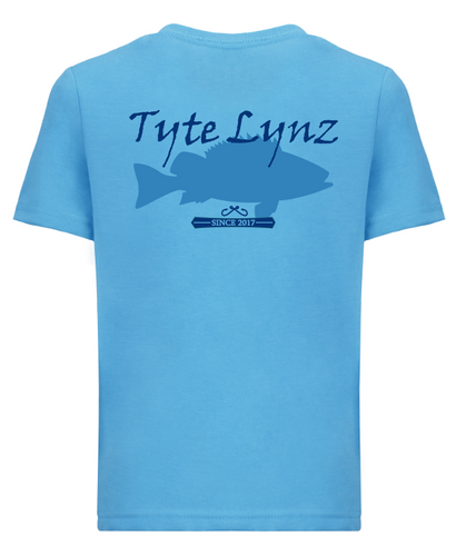 Original Grouper Youth Tee | Turquoise | Tyte Lynz
