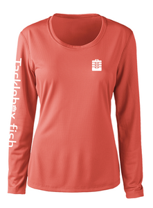 Ladies Shoreline Popcorn Knit Long-Sleeve Sea Turtle | Grenadine | Tyte Lynz