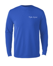 Load image into Gallery viewer, Bayside Youth Long-Sleeve Blacktip Shark | Blue | Tyte Lynz