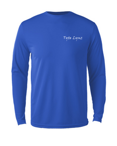 Bayside Youth Long-Sleeve Blacktip Shark | Blue | Tyte Lynz