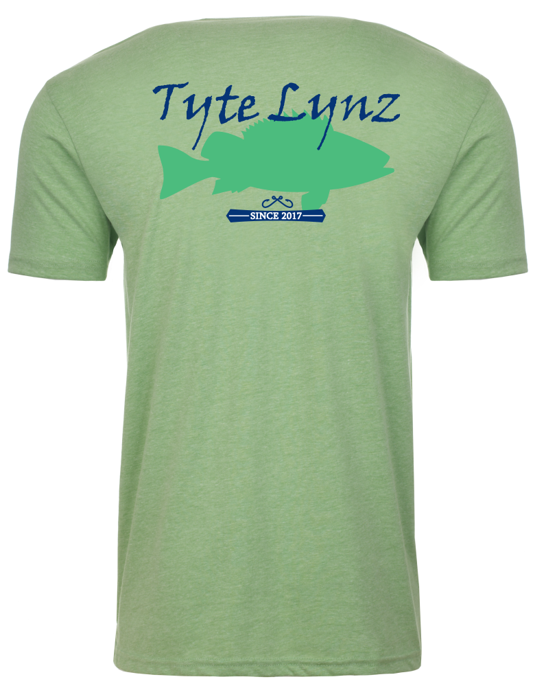 Original Grouper Tee | Apple Green | Tyte Lynz