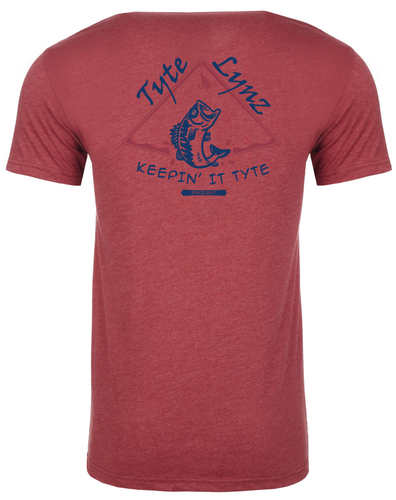 Keep It Tyte Bass Tee | Cardinal | Tyte Lynz