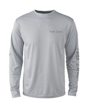 Load image into Gallery viewer, Mens Shoreline Popcorn Knit Long-Sleeve Bass | Platinum | Tyte Lynz