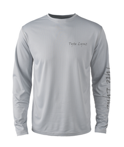 Mens Shoreline Popcorn Knit Long-Sleeve Bass | Platinum | Tyte Lynz