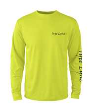 Load image into Gallery viewer, Mens Shoreline Popcorn Knit Long-Sleeve Bass | Hi-Vis Yellow | Tyte Lynz