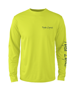 Mens Shoreline Popcorn Knit Long-Sleeve Bass | Hi-Vis Yellow | Tyte Lynz