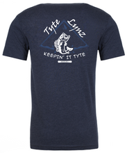 Load image into Gallery viewer, Keep It Tyte Bass Tee | Midnight Navy | Tyte Lynz