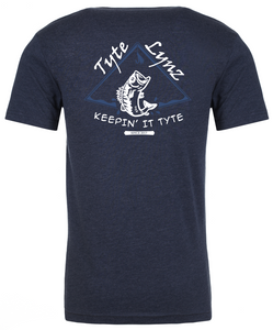 Keep It Tyte Bass Tee | Midnight Navy | Tyte Lynz