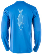 Load image into Gallery viewer, Bayside Long-Sleeve Redfish | Blue | Tyte Lynz
