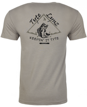 Load image into Gallery viewer, Keep It Tyte Bass Tee | Stone Gray | Tyte Lynz