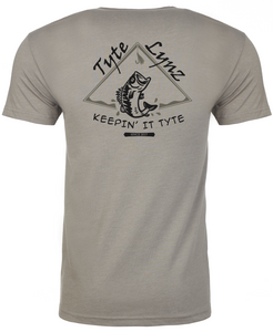 Keep It Tyte Bass Tee | Stone Gray | Tyte Lynz