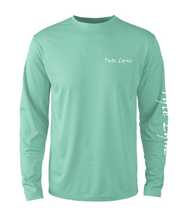Load image into Gallery viewer, Mens Shoreline Popcorn Knit Long-Sleeve Bass | Cabana | Tyte Lynz