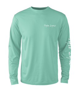 Mens Shoreline Popcorn Knit Long-Sleeve Bass | Cabana | Tyte Lynz