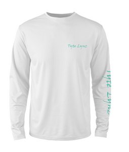 Mens Shoreline Popcorn Knit Long-Sleeve Tarpon | White | Tyte Lynz