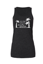 Load image into Gallery viewer, Shady Beach Tank Top | Charcoal | Tyte Lynz