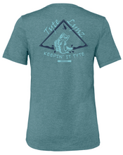 Load image into Gallery viewer, Keep It Tyte Bass Tee | Heather Deep Teal | Tyte Lynz