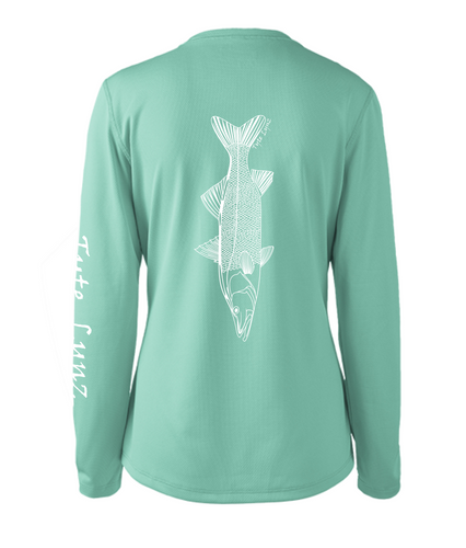 Ladies Shoreline Popcorn Knit Long-Sleeve Snook | Cabana | Tyte Lynz