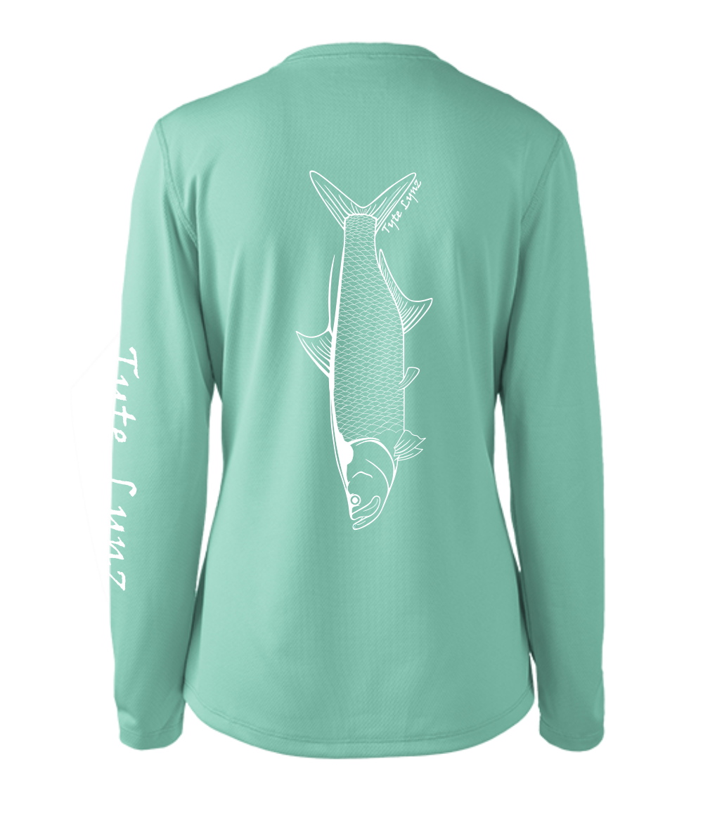 Ladies Shoreline Popcorn Knit Long-Sleeve Tarpon | Cabana | Tyte Lynz