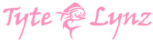 Load image into Gallery viewer, Tyte Lynz Jumping Mahi Vinyl Decal | Soft Pink