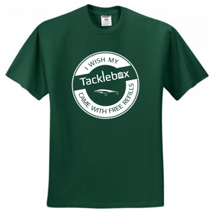Free Refills - Men's Jerzees Short Sleeve T-Shirt | Forrest Green