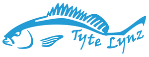 Tyte Lynz Mangrove Snapper Vinyl Decal | Ice Blue