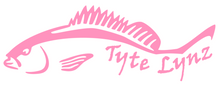 Load image into Gallery viewer, Tyte Lynz Mangrove Snapper Vinyl Decal | Soft Pink