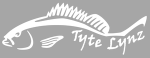 Tyte Lynz Mangrove Snapper Vinyl Decal | White