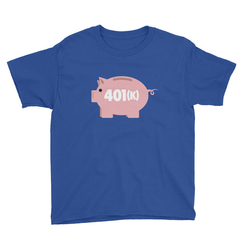 401(k) Youth Short Sleeve T-Shirt
