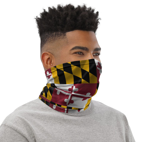 Maryland Flag: Multifunctional Bandana/Neck Gaiter