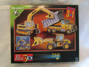 3 In 1 Construction Vehicles