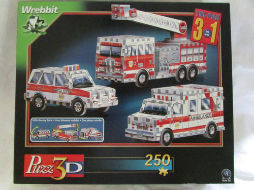 3 In 1 Rescue Vehicles