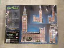 Load image into Gallery viewer, Big Ben & Parliament Wrebbit Puzz 3D 890 piece puzzle Complete