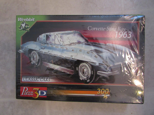 Corvette Sting Ray - Sealed, 3D Puzzle