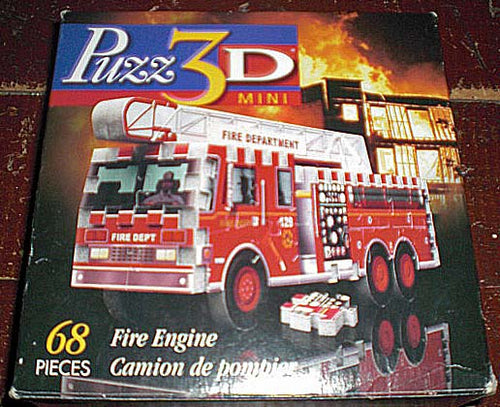 Fire Engine - Mini - NO BOX