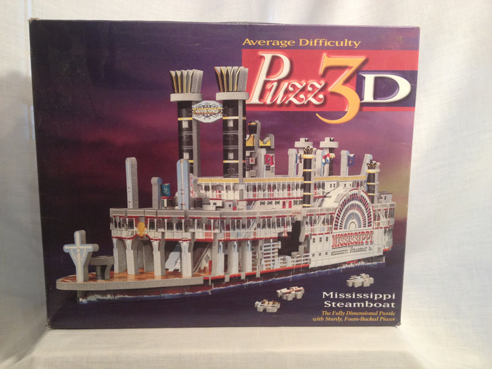 Mississippi Steamboat - 406 Pieces - missing-pieces-for-you