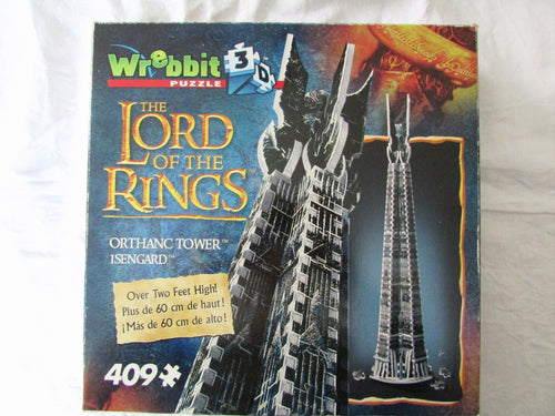 Lord of The Rings - Orthanc Tower  Missing 1 Puzzle Piece