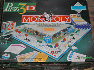 Monopoly - Missing 2 Pieces & No Box