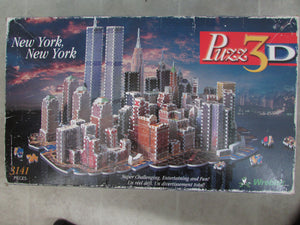 New York, New York, 3D Puzz, 3D Puzzle