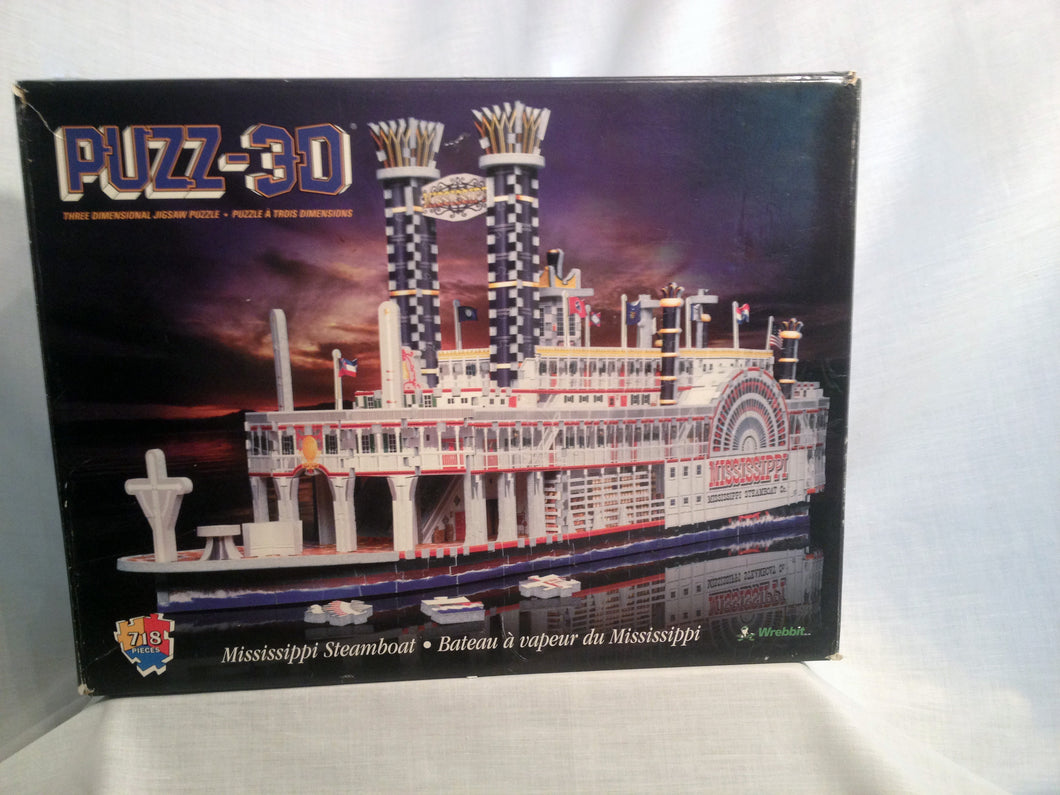 Mississippi Steamboat - 718 Pieces - missing-pieces-for-you