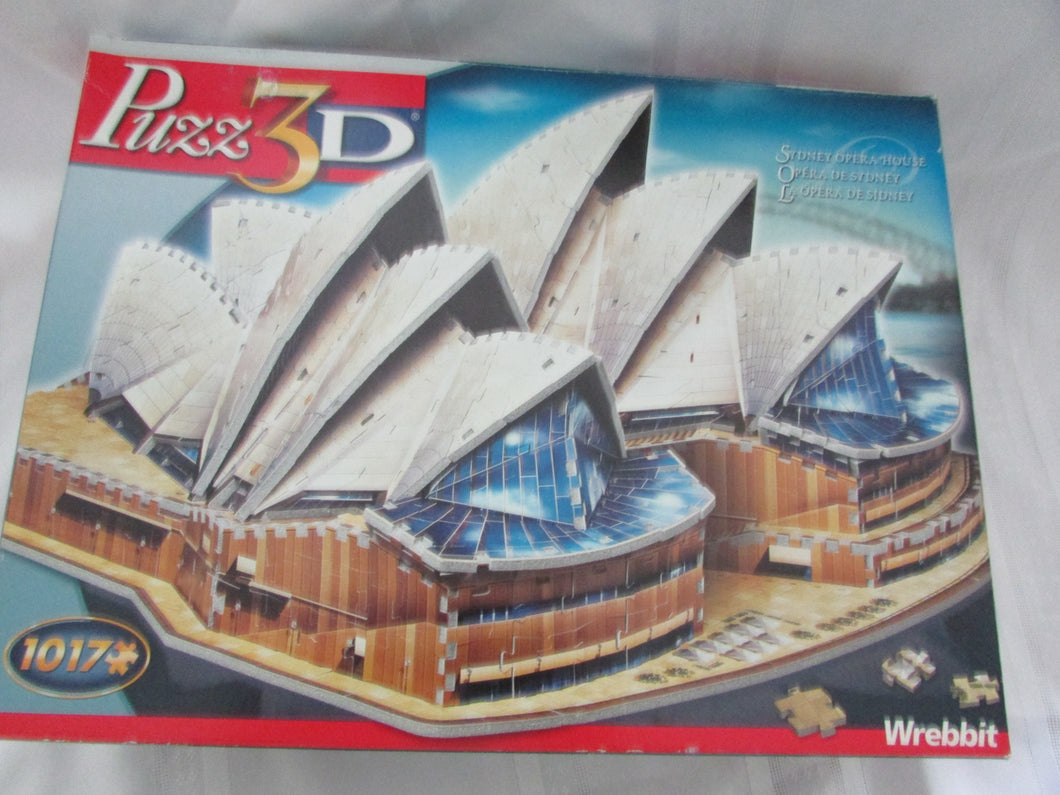 Sydney Opera House - Missing 3 Pieces