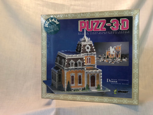 Diana Victorian House 3D Puzzle - missing-pieces-for-you
