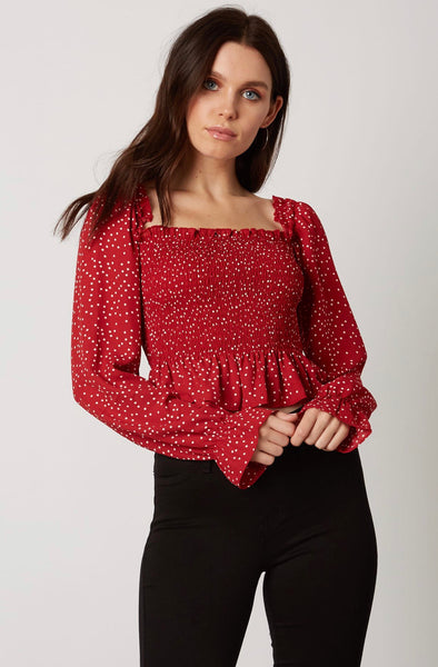Touch Of Merlot Top