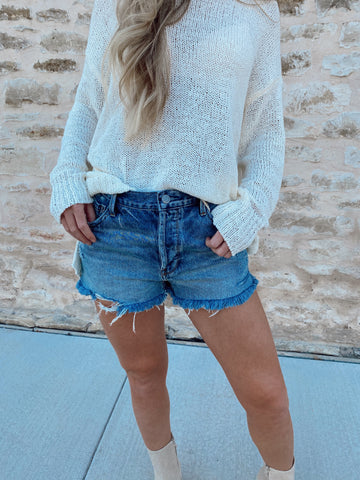 Bri Denim Shorts