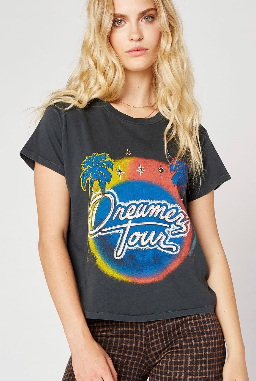 Dreamers Tour Studded Girlfriend Tee
