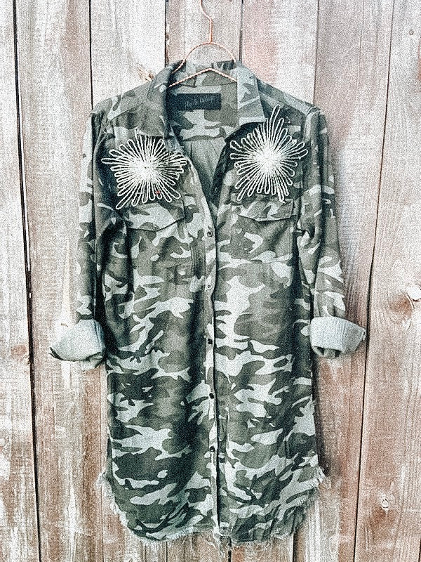 Love You Always Camo Tunic