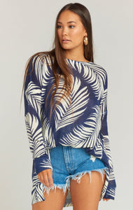 Boca Palm Sweater