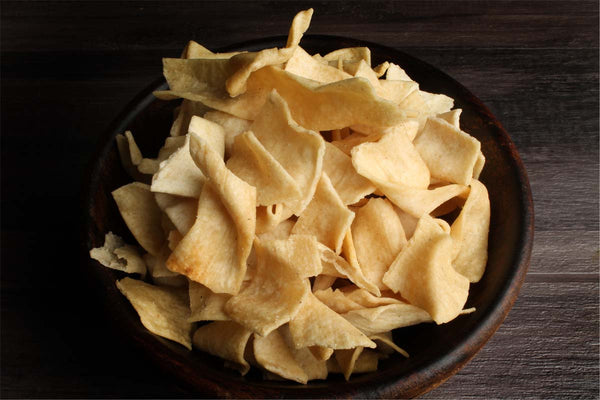 LOW FAT LOW SALT SOYA CHIPS
